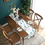 chemin-de-table-foret-noel-sapin