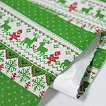 chemin-de-table-noel-vert-tissu