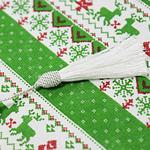 chemin-de-table-noel-vert-en-tissu