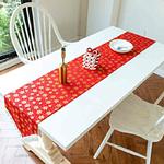 chemin-de-table-noel-rouge-et-or-motifs-dores