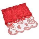 chemin-de-table-coeur-rouge-st-valentin