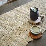 chemin-de-table-matiere-naturelle-fibre-ramie