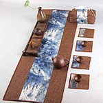 chemin-de-table-en-lin-marron-naturel