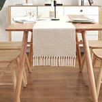 chemin-de-table-coton-lin-beige-naturel
