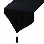 chemin-de-table-coton-noir