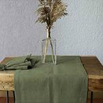 chemin-de-table-en-lin-vert-fibre-naturelle