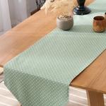 chemin-de-table-bapteme-vert-menthe-garcon