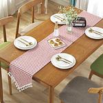 chemin-de-table-pour-bapteme-rose