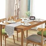 chemin-de-table-pour-bapteme-gris-pastel