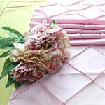 chemin-de-table-bapteme-princesse-theme-rose