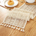 chemin-de-table-crochet-moderne-coton-blanc