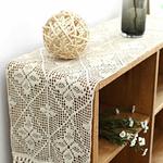 chemin-de-table-au-crochet-en-coton-blanc