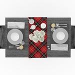 chemin-de-table-ecossais-rouge-anglais