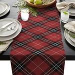 chemin-de-table-ecossais-rouge-tartan