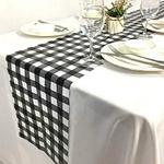 chemin-de-table-vichy-noir-motifs