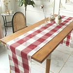 chemin-de-table-carreaux-rouge-et-noir-vichy