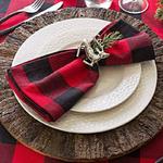 chemin-de-table-tartan-serviette