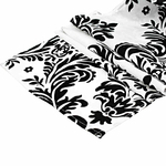 chemin-de-table-baroque-noir-et-blanc-retro