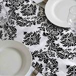 chemin-de-table-baroque-noir-et-blanc-motifs