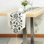 chemin-de-table-arabesque-noir-motifs