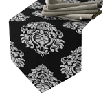 chemin-de-table-baroque-noir