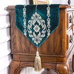 chemin-de-table-arabesque-turquoise-motifs
