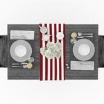 chemin-de-table-raye-rouge-et-blanc-motifs