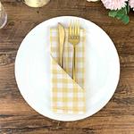 serviette-de-table-a-carreaux-beige-blanc