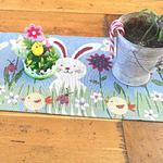 chemin-de-table-jardin-paques-lapin