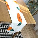 chemin-de-table-carotte-paques-jardin