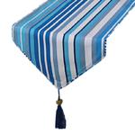 chemin-de-table-rayures-bleu