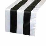chemin-de-table-raye-noir-et-blanc