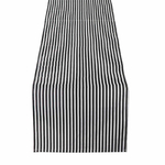 chemin-de-table-rayure-noir-et-blanc