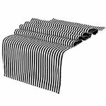 chemin-de-table-rayure-noir-et-blanc-motifs