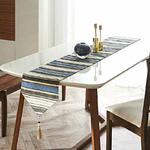 chemin-de-table-raye-gris-bleu-motifs