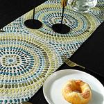 chemin-de-table-mosaique-multicolore