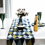 chemin-de-table-contemporain-mosaique