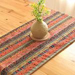 chemin-de-table-motif-ethnique-multicolore