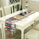 chemin-de-table-multicolore-motifs