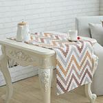 chemin-de-table-chevron-motif-beige
