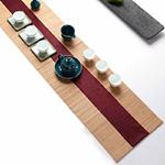 chemin-de-table-japonais-bambou-rouge