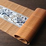 chemin-de-table-asiatique-bambou-naturel