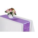 chemin-de-table-satin-parme-mariage-bapteme