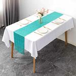 chemin-de-table-en-sequin-turquoise