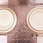 chemin-de-table-sequin-rose-gold-anniversaire