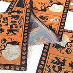 chemin-de-table-trick-or-treat-halloween-araignee