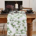 chemin-de-table-eucalyptus-feuille