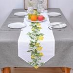 chemin-de-table-citron-anniversaire
