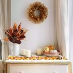 chemin-de-table-theme-automne-feuilles