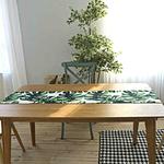 chemin-de-table-feuille-de-bananier-palmier